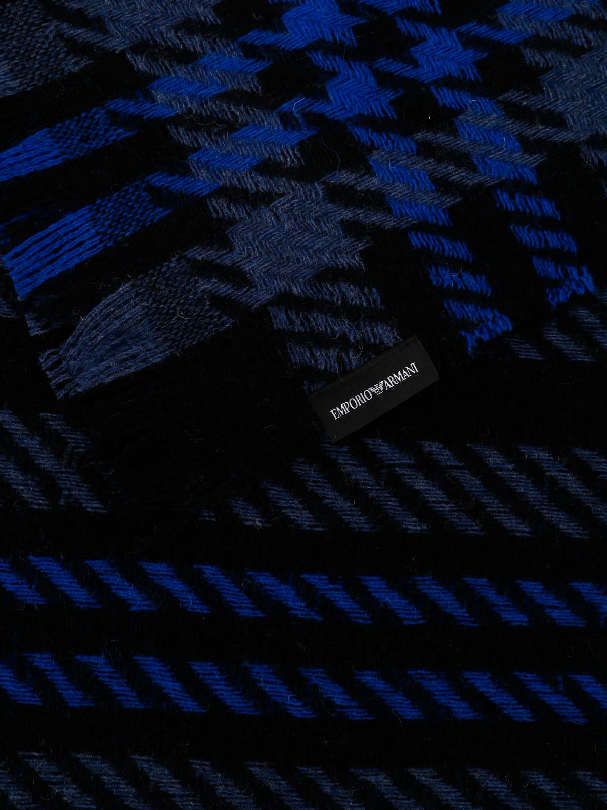 Picture of EMPORIO ARMANI | Men's Wool Blend Scarf