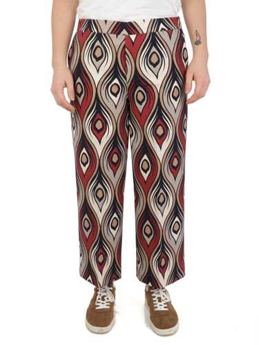Picture of One | Trousers Pantalone Cropped