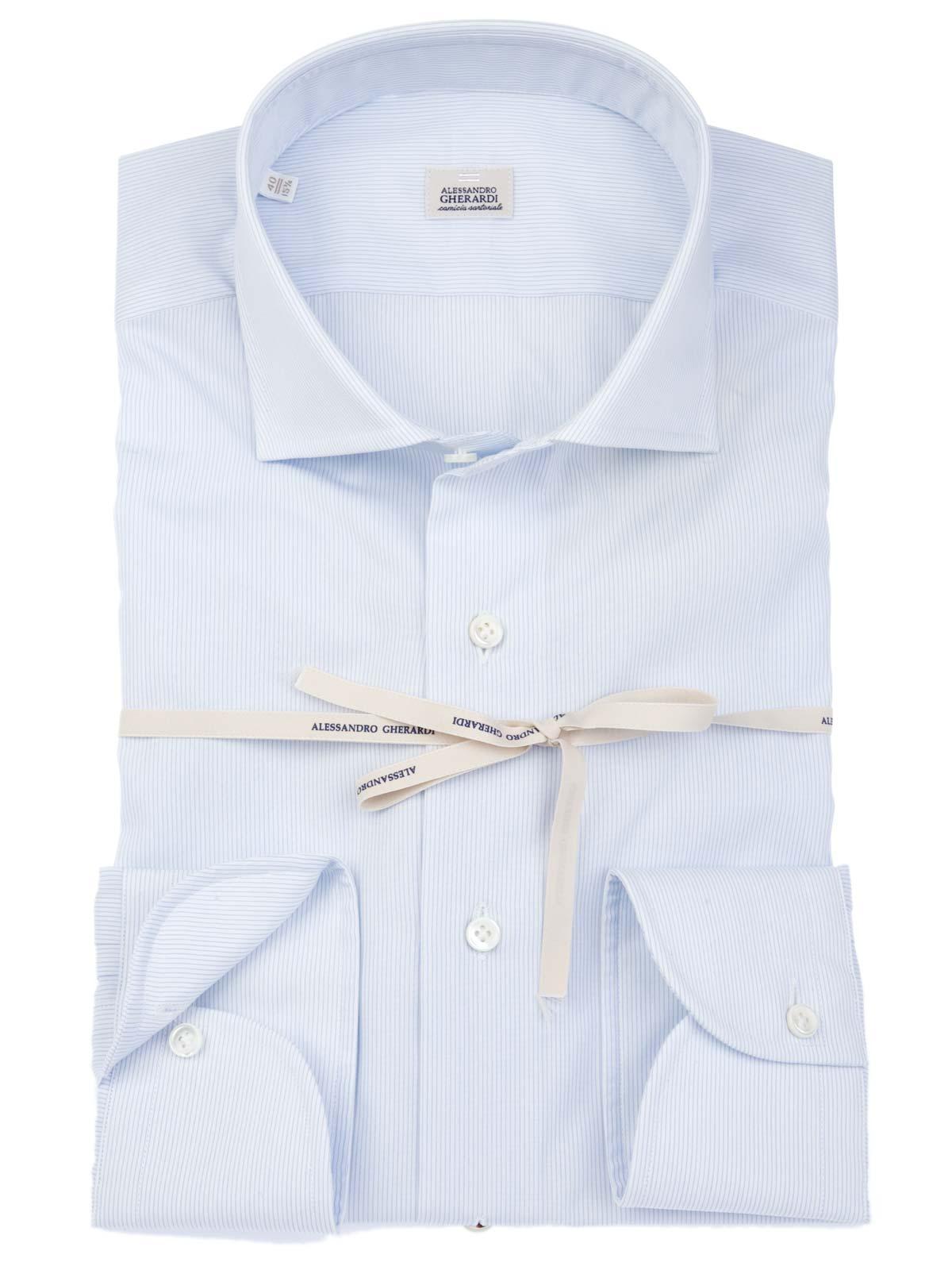 Picture of GHERARDI | Micro Striped Shirt