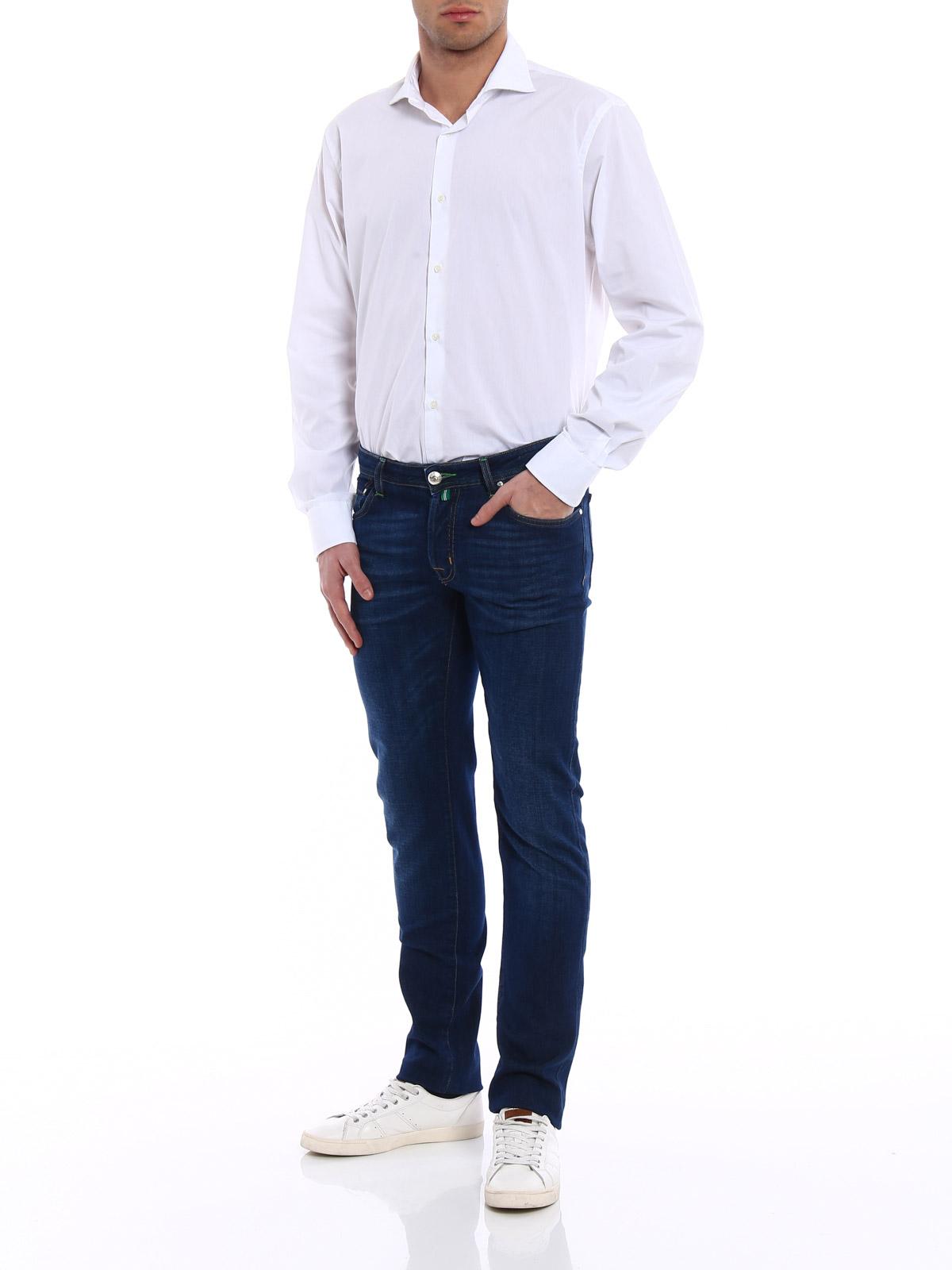 Picture of JACOB COHEN | Men's Delavé Jeans