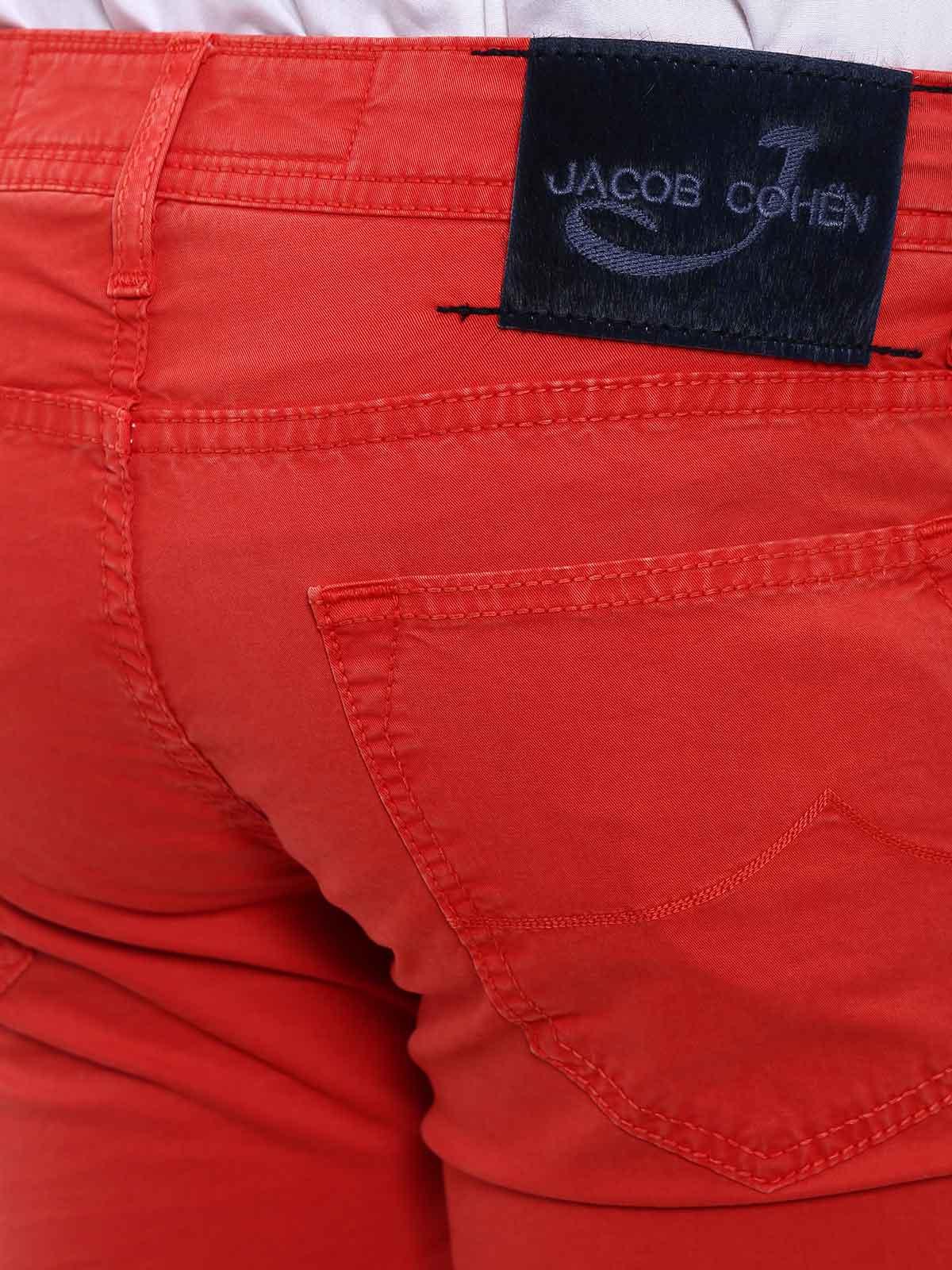 Picture of JACOB COHEN | Men's Cotton Trousers