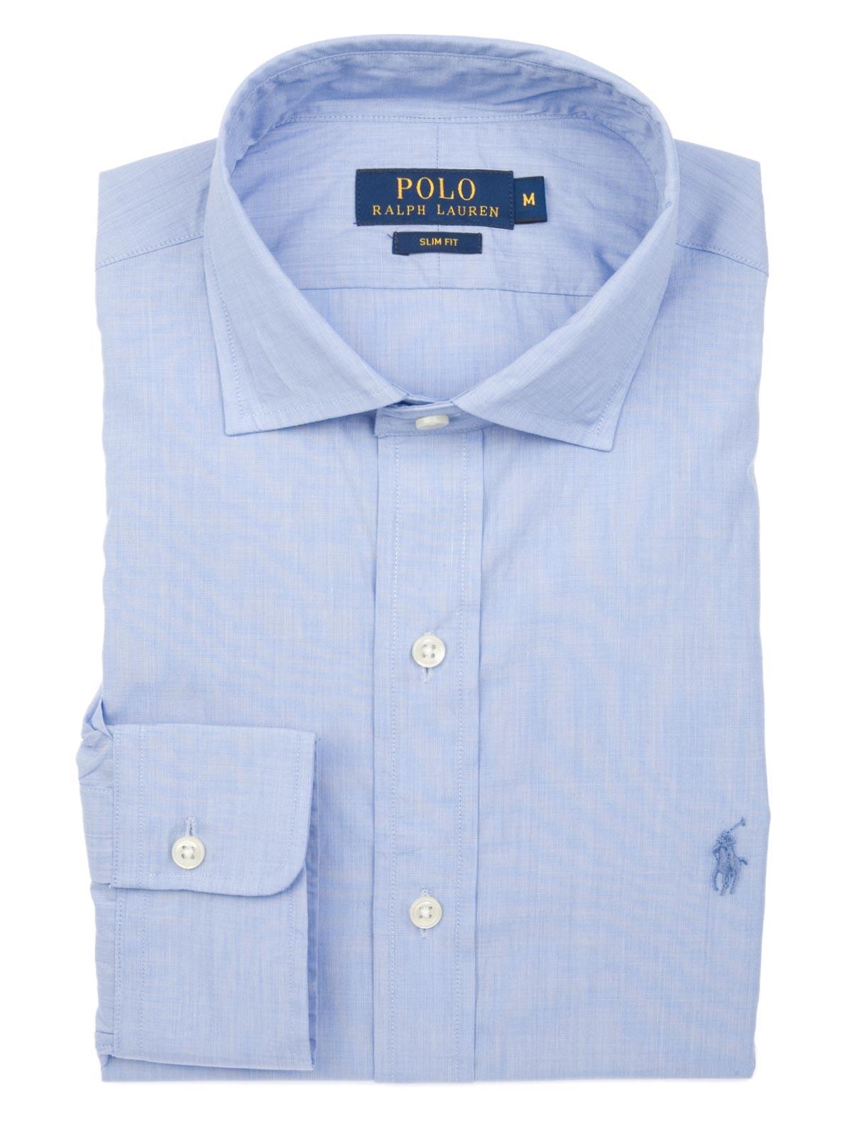 044b98f7 POLO RALPH LAUREN Poplin Slim Fit Dress Shirt