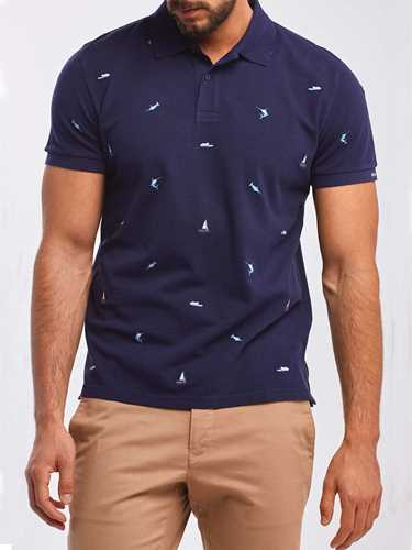 Picture of GANT | Men's Maritime Piqué Polo Shirt