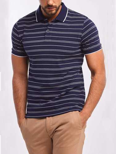 Picture of GANT   Men's Double-Stripes Piqué Rugger