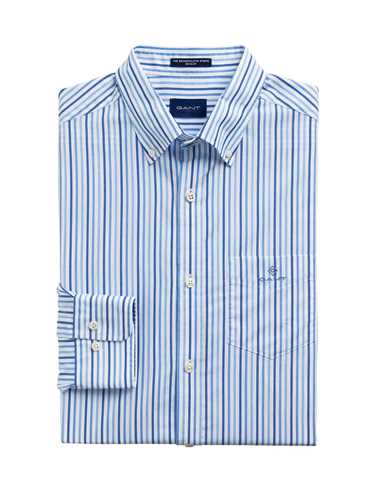 Picture of GANT | Men's Three Colours Stripe Regular Fit Shirt