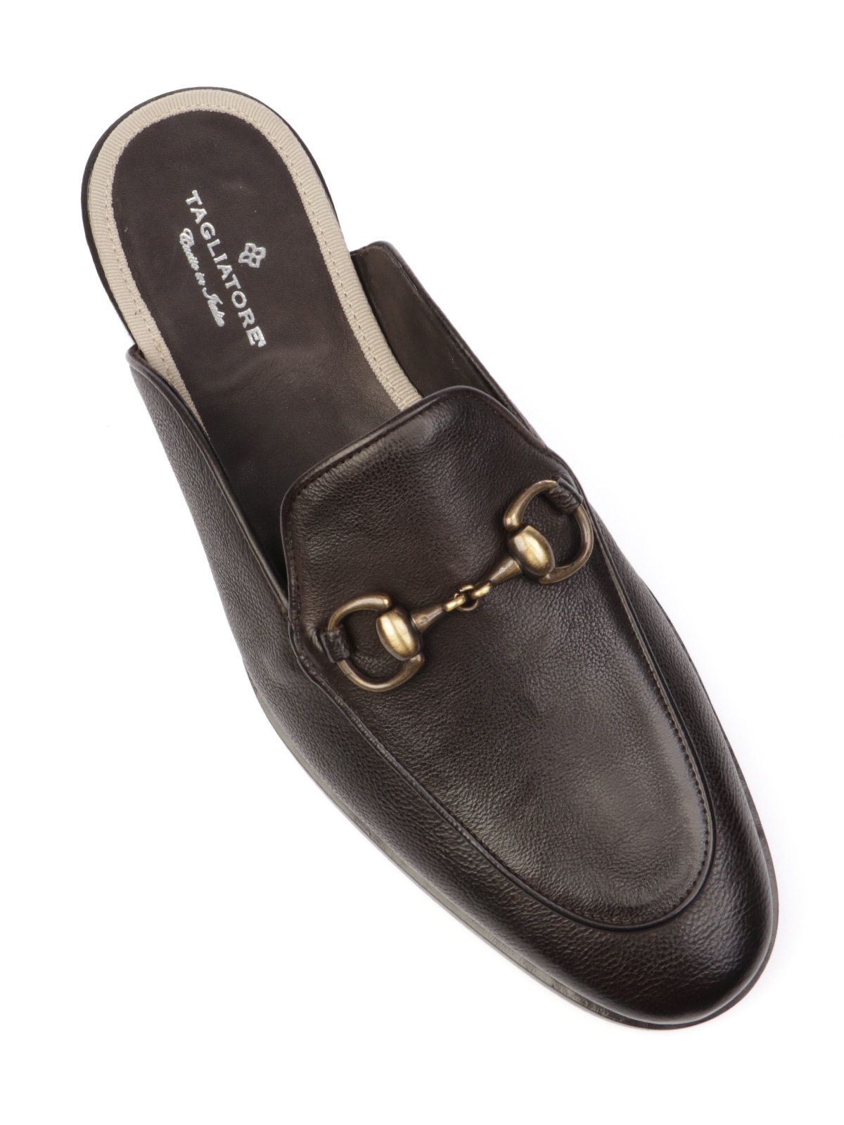 Picture of TAGLIATORE | Men's Sonny Leather Slippers
