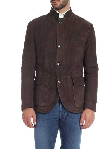 Picture of ELEVENTY | Men's Suede Jacket