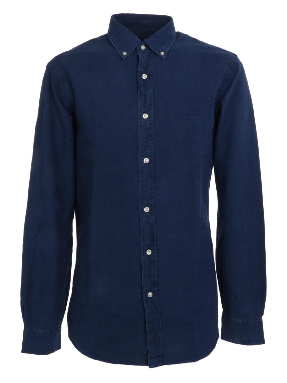 Picture of POLO RALPH LAUREN | Men's Denim Effect Shirt