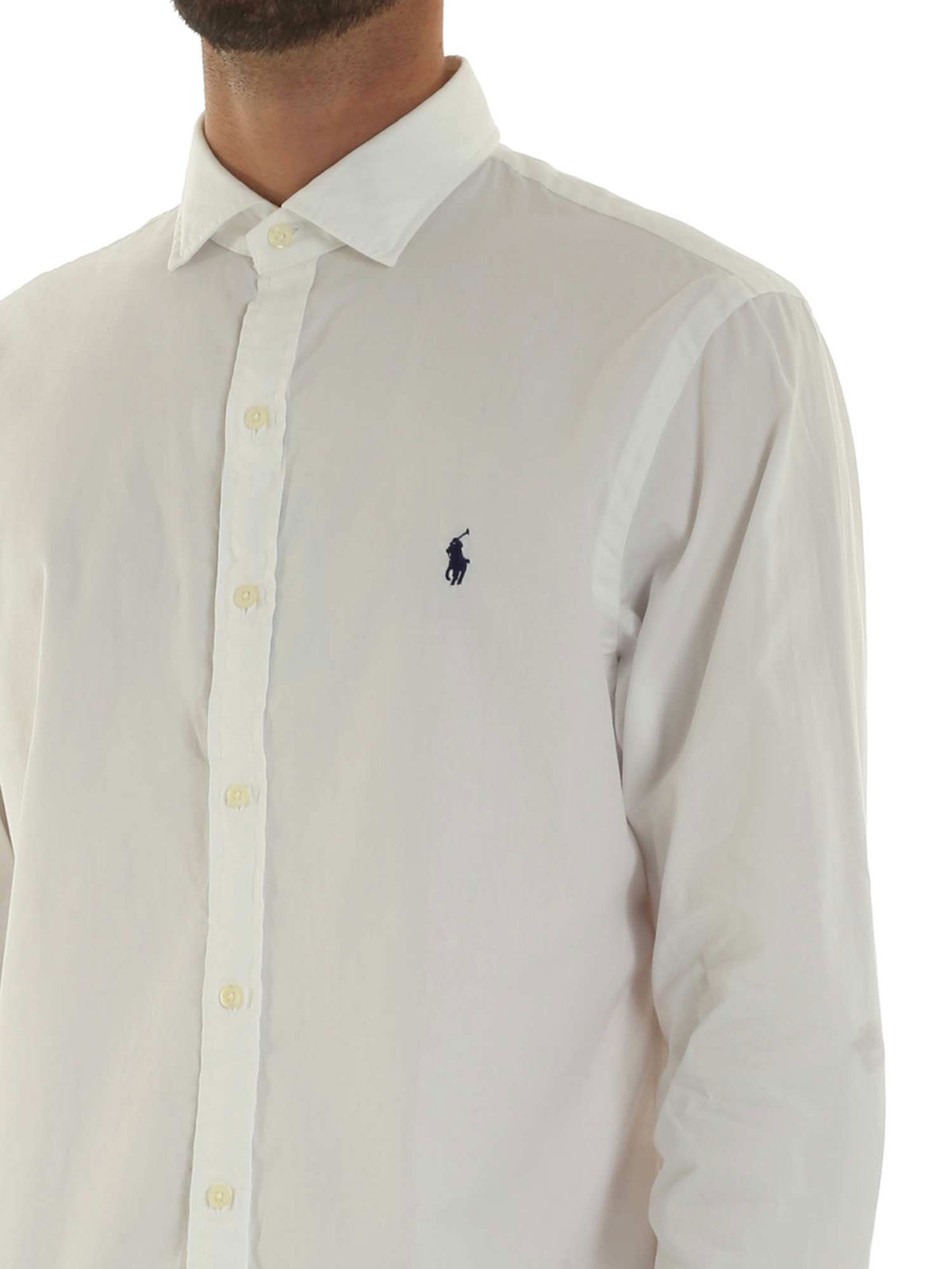 Picture of POLO RALPH LAUREN   Men's Solid Cotton Shirt