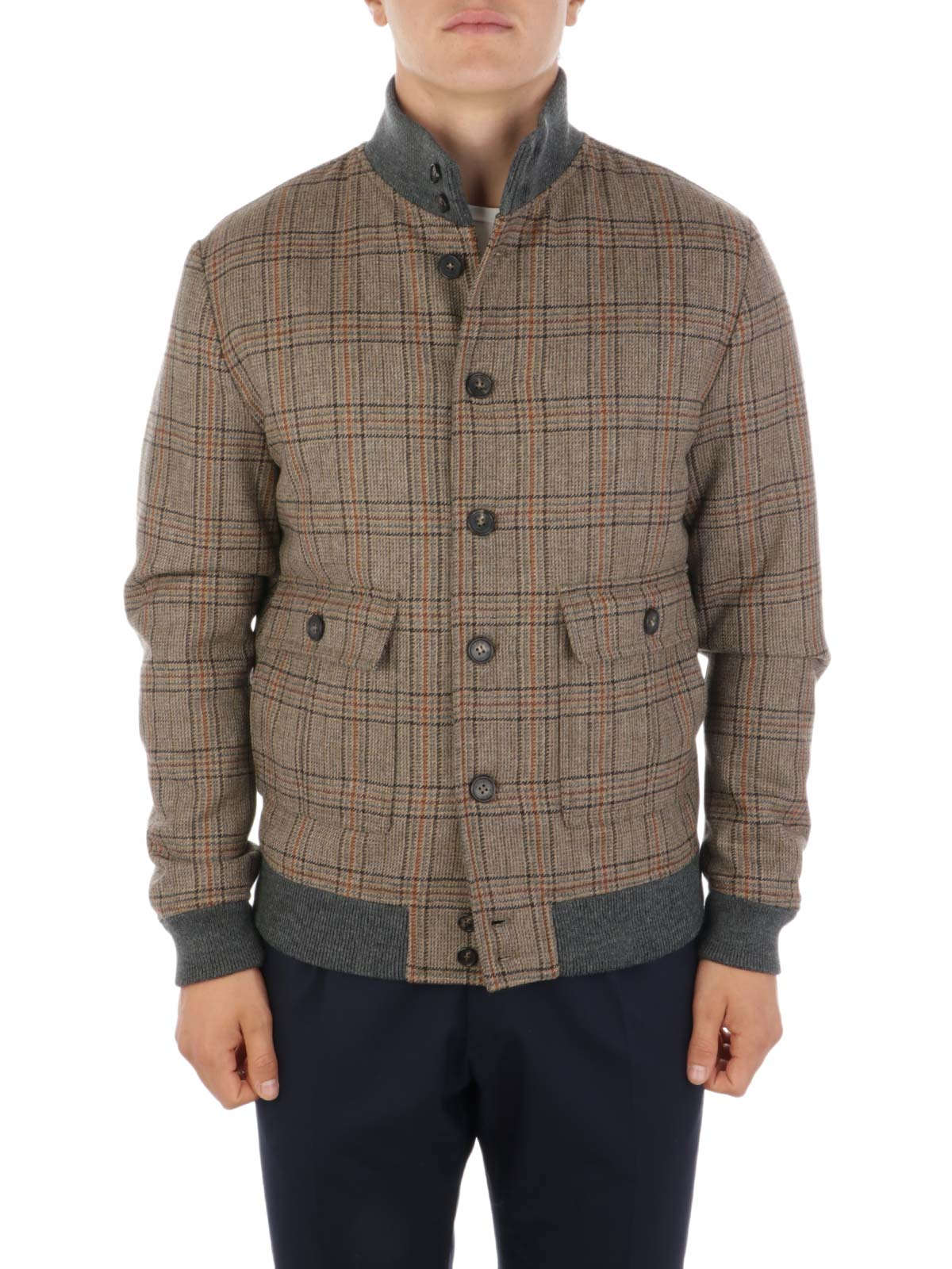 Picture of VALSTAR | Men's Prince of Wales Wool Valstarino