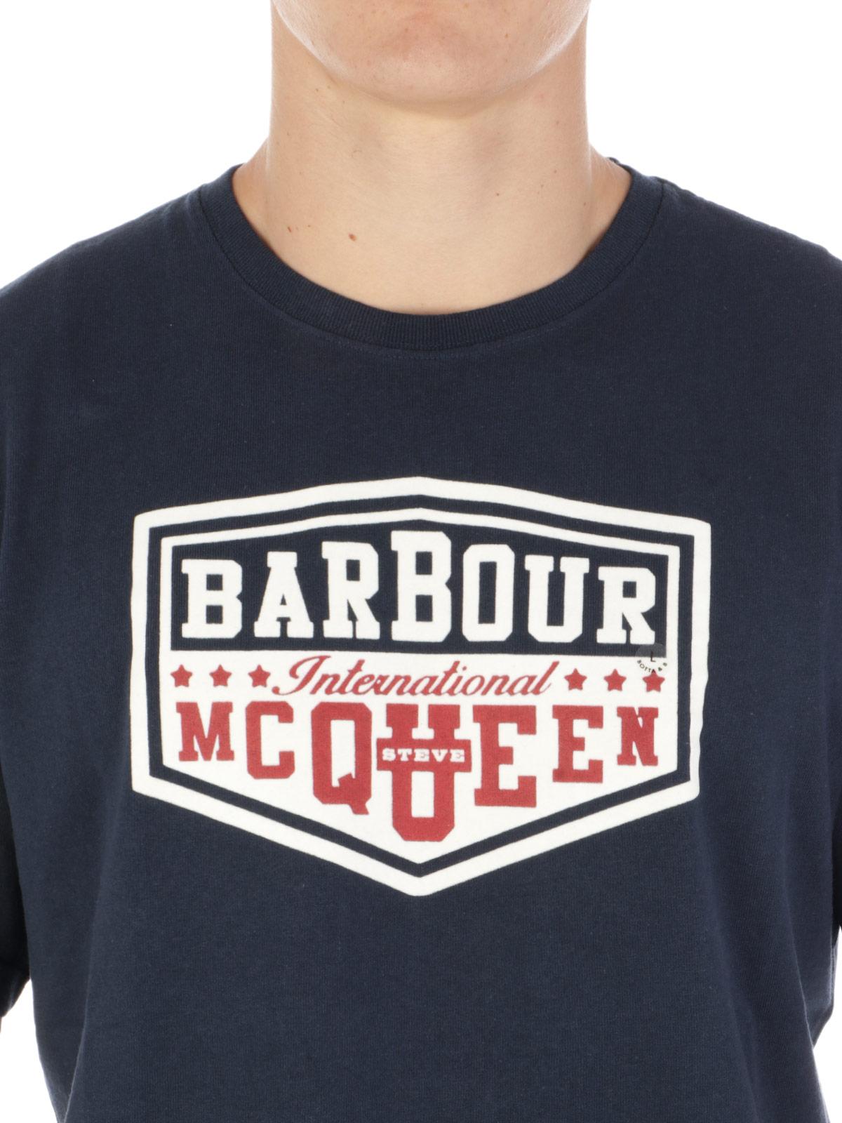 Picture of BARBOUR   Men's Steve McQueen Torx T-Shirt