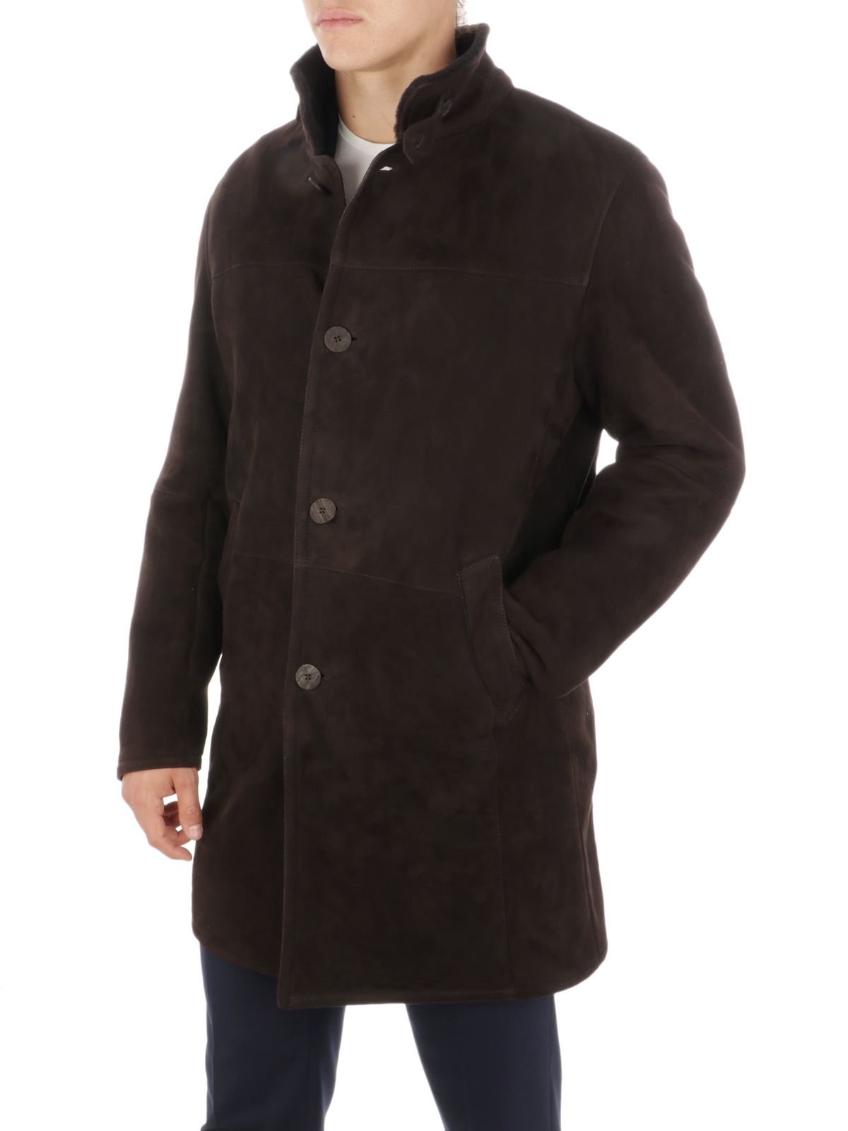 Picture of GIMO'S | Men's Shearling Coat