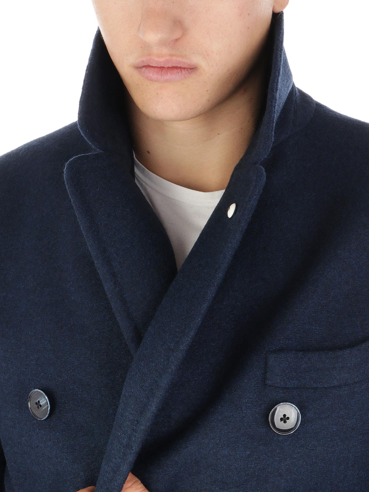 Picture of LBM 1911 | Men's Double-Breasted Wool Coat