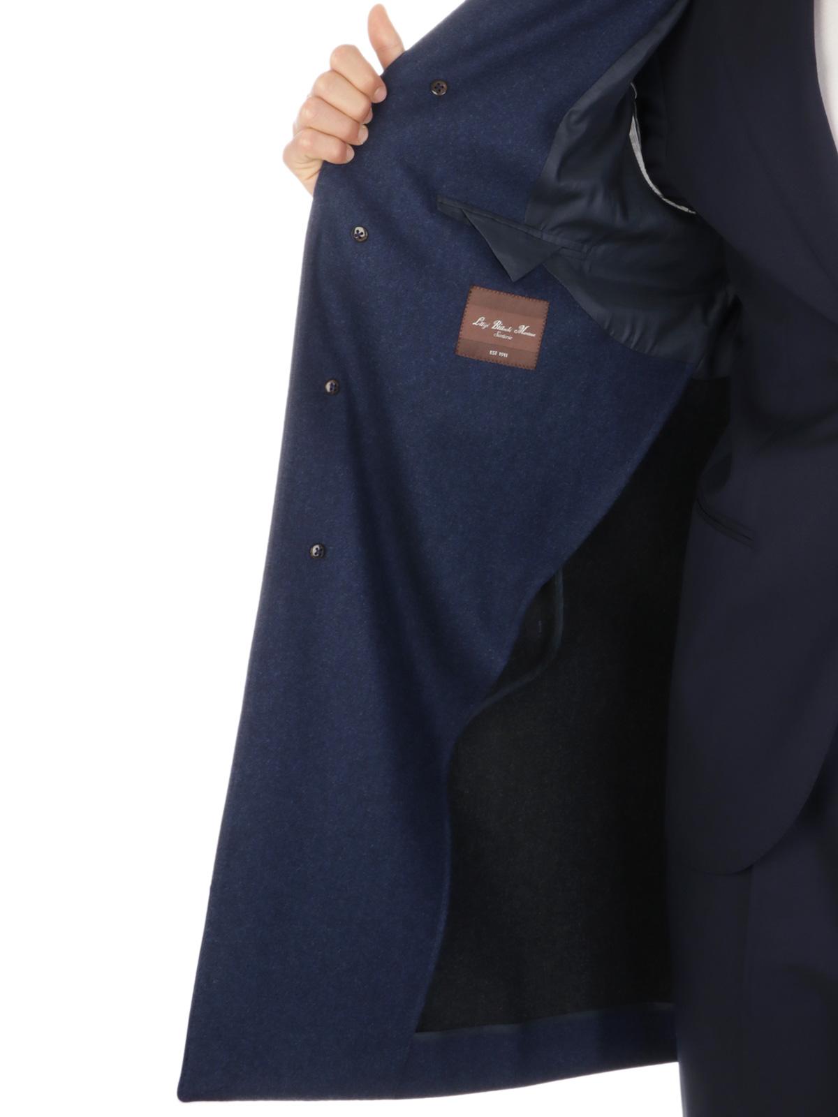 Picture of LUIGI BIANCHI MANTOVA | Men's Melange Wool Coat