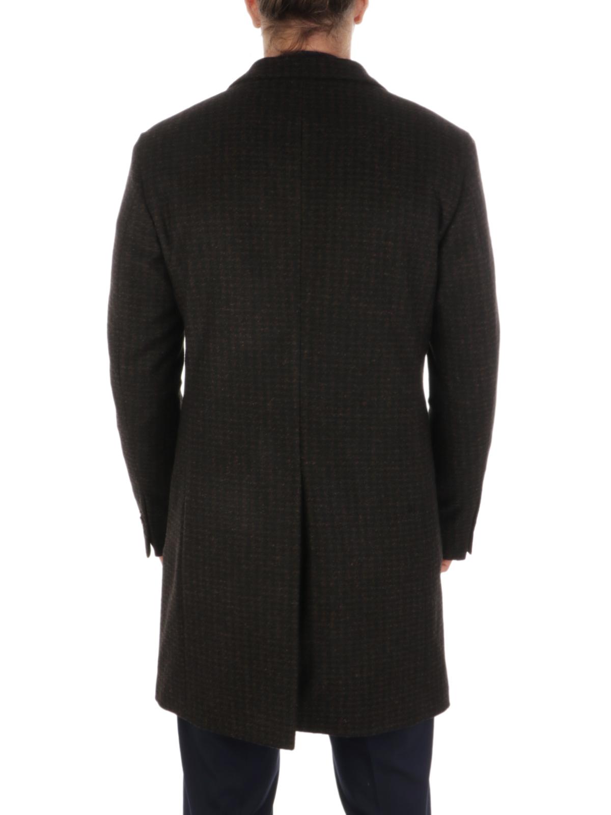 Picture of LBM 1911 | Men's Houndstooth Wool Coat