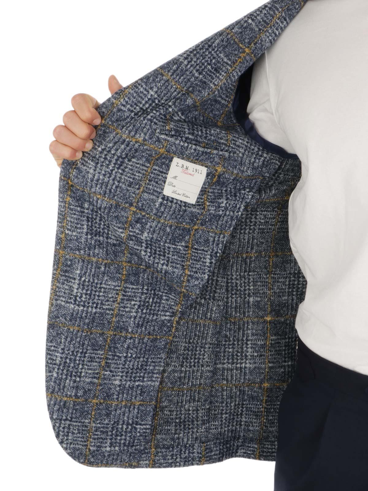 Picture of LBM 1911 | Men's Windowed Wool Blazer