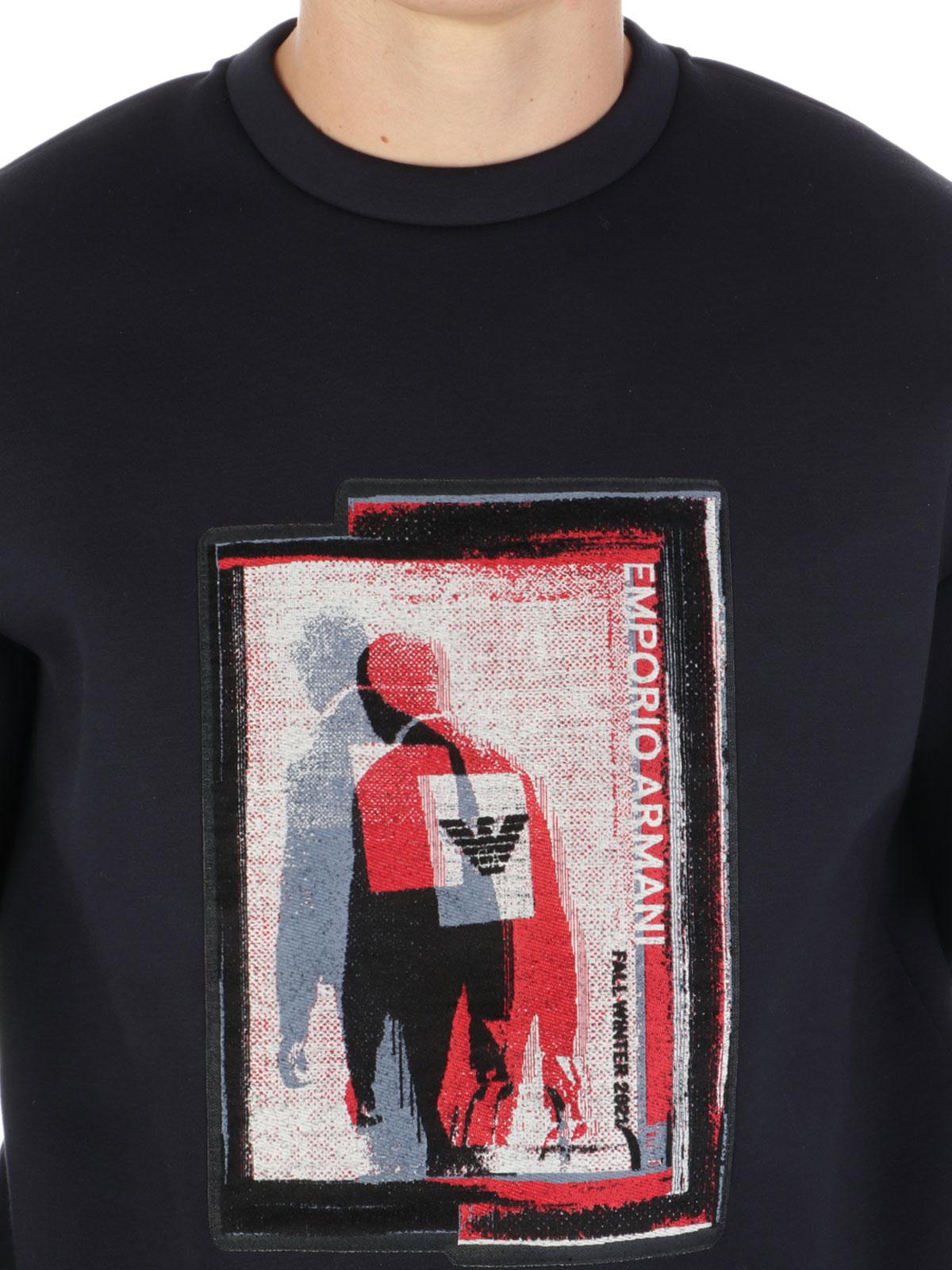 Picture of EMPORIO ARMANI | Men's Fall Winter 2021 Sweatshirt