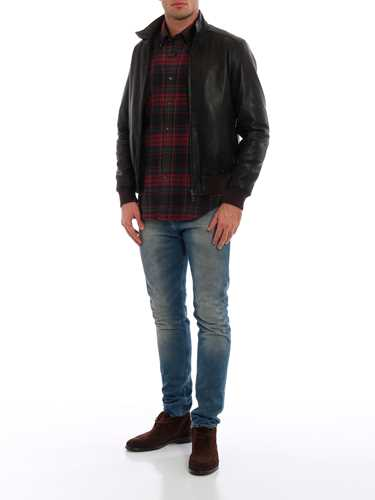Picture of ASPESI | Men's Steve Leather Jacket
