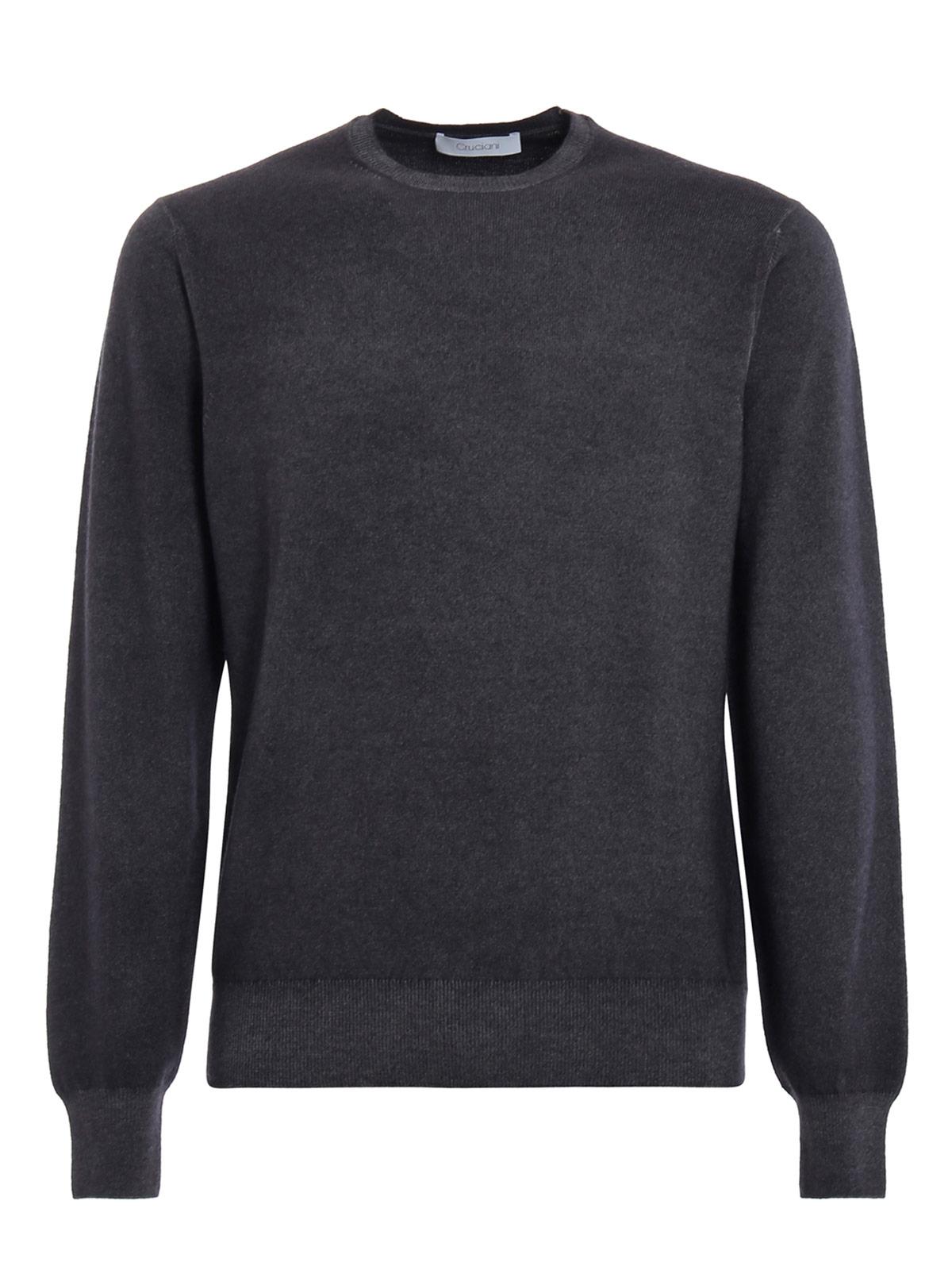 Picture of CRUCIANI | Men's Crewneck Cashmere Sweater