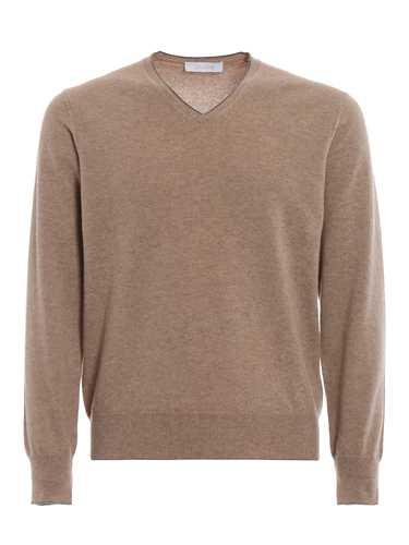 Picture of CRUCIANI | Men's Cashmere V-Neck Sweater