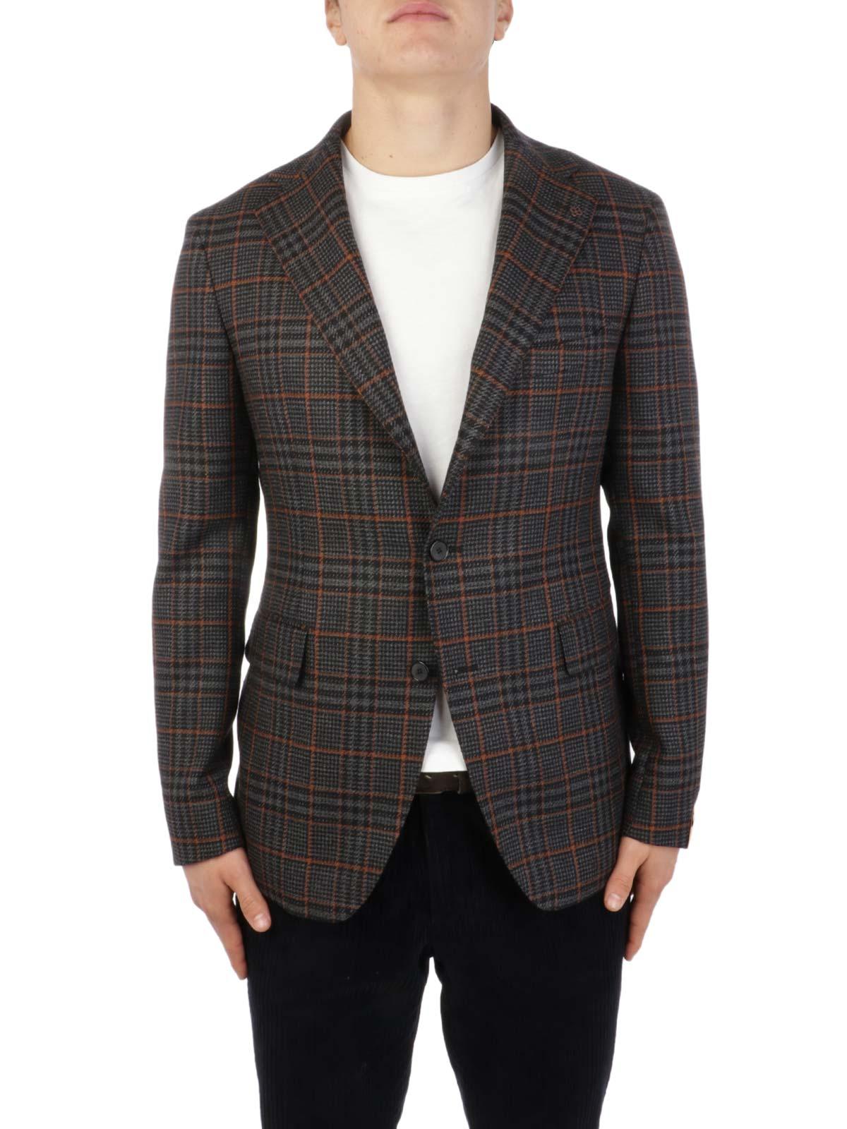 Picture of TAGLIATORE | Men's Wool and Cotton Blazer
