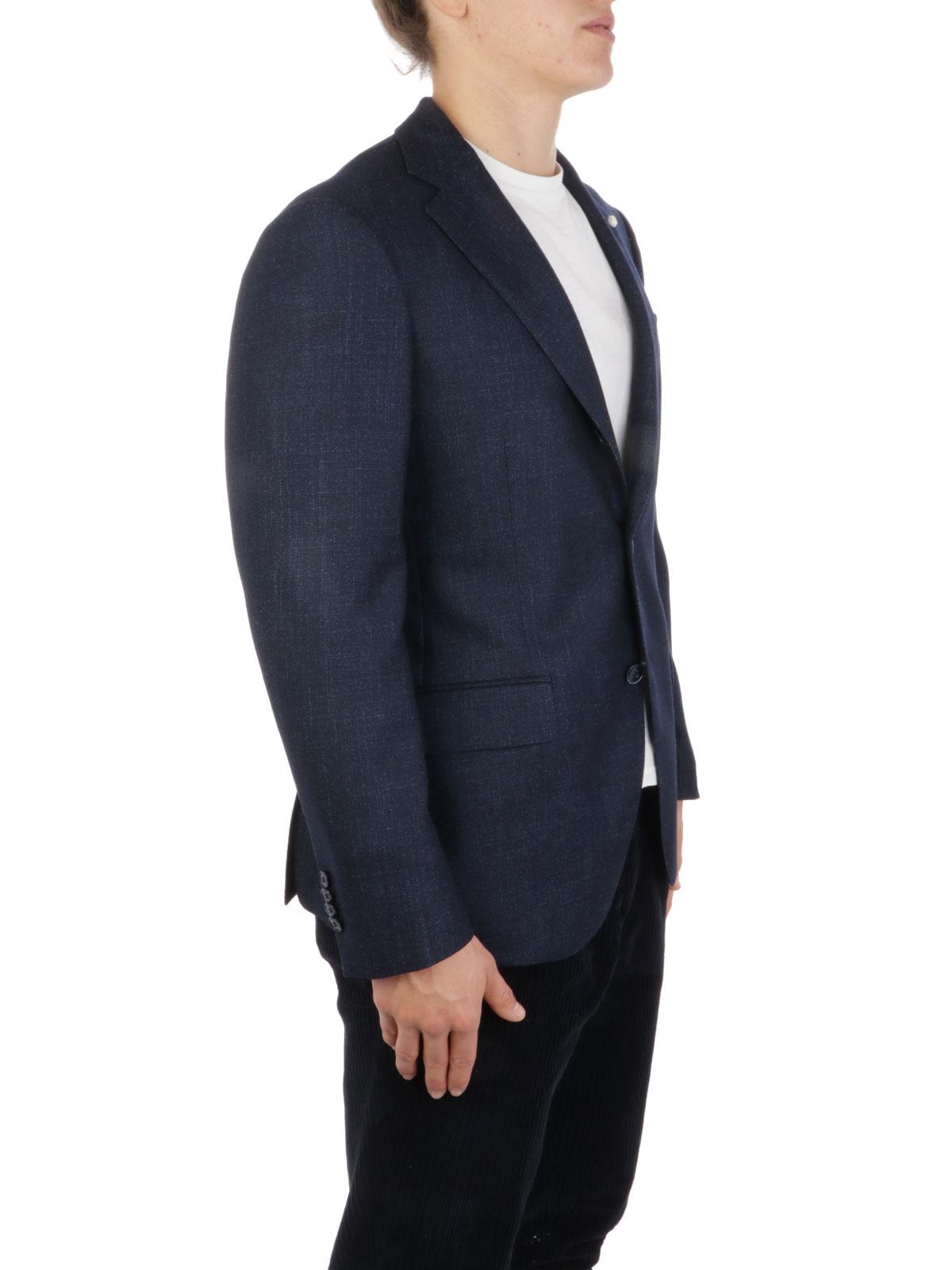 Picture of LUBIAM | Men's Virgin Wool Blazer