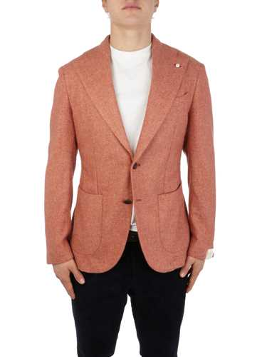 Picture of LBM 1911 | Men's Melange Wool Blazer