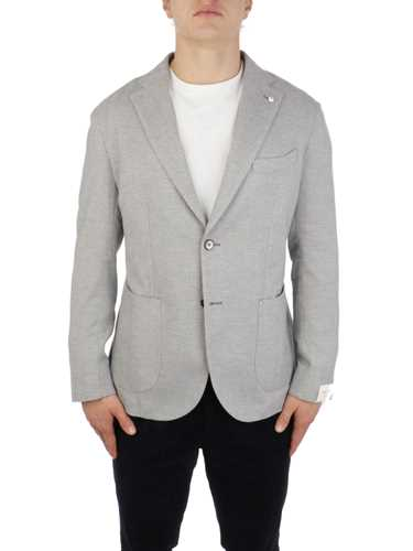 Picture of LBM 1911 | Men's Harringbone Cotton Blazer