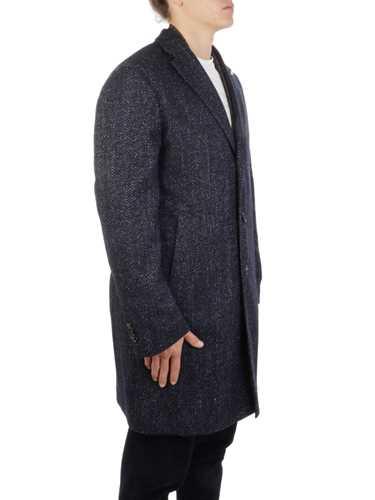 Picture of LUBIAM | Men's Harringbone Wool Coat