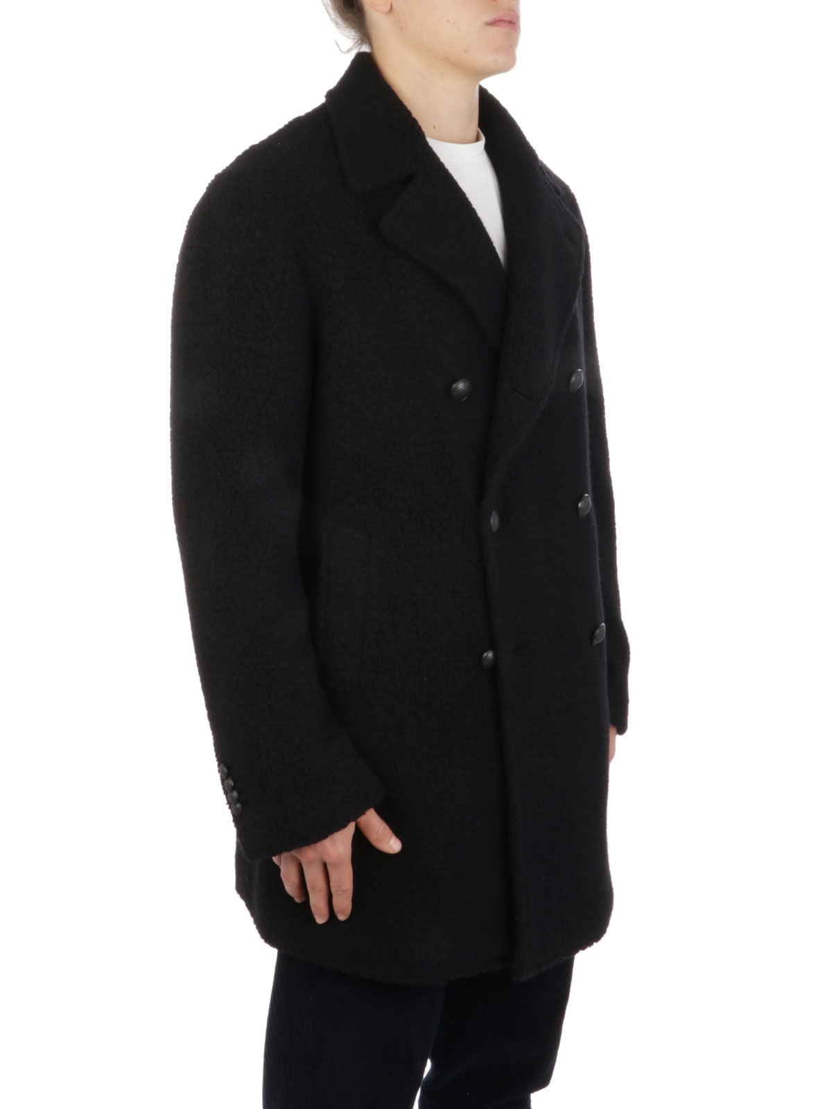 Picture of TAGLIATORE | Men's Double-Breasted Wool Coat