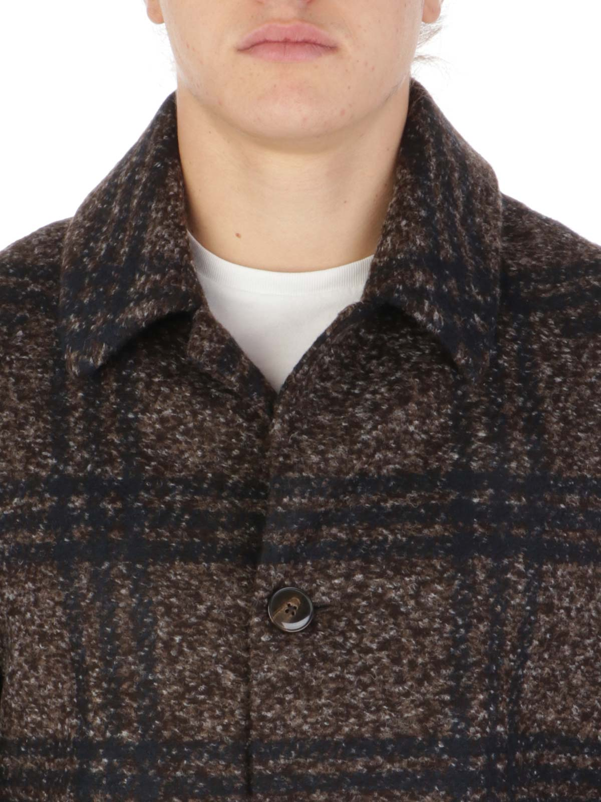 Picture of LBM 1911 | Men's Checked Coat