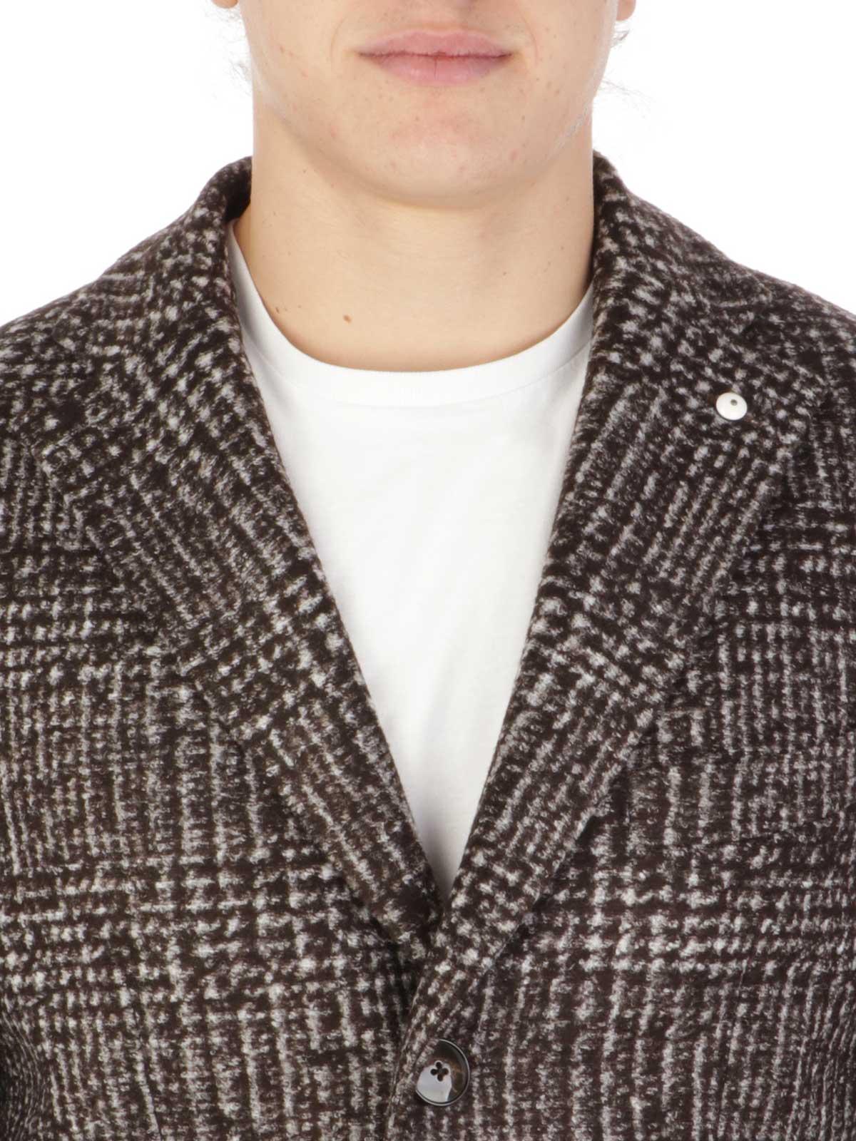 Picture of LBM 1911 | Men's Virgin Wool Blend Coat
