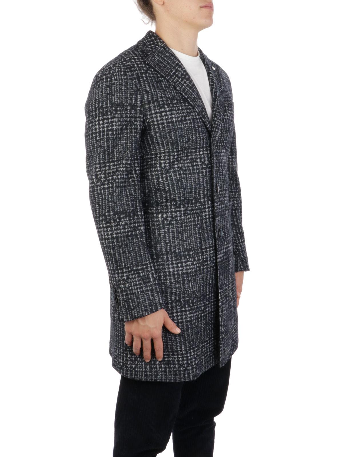 Picture of LBM 1911   Men's Virgin Wool Blend Coat