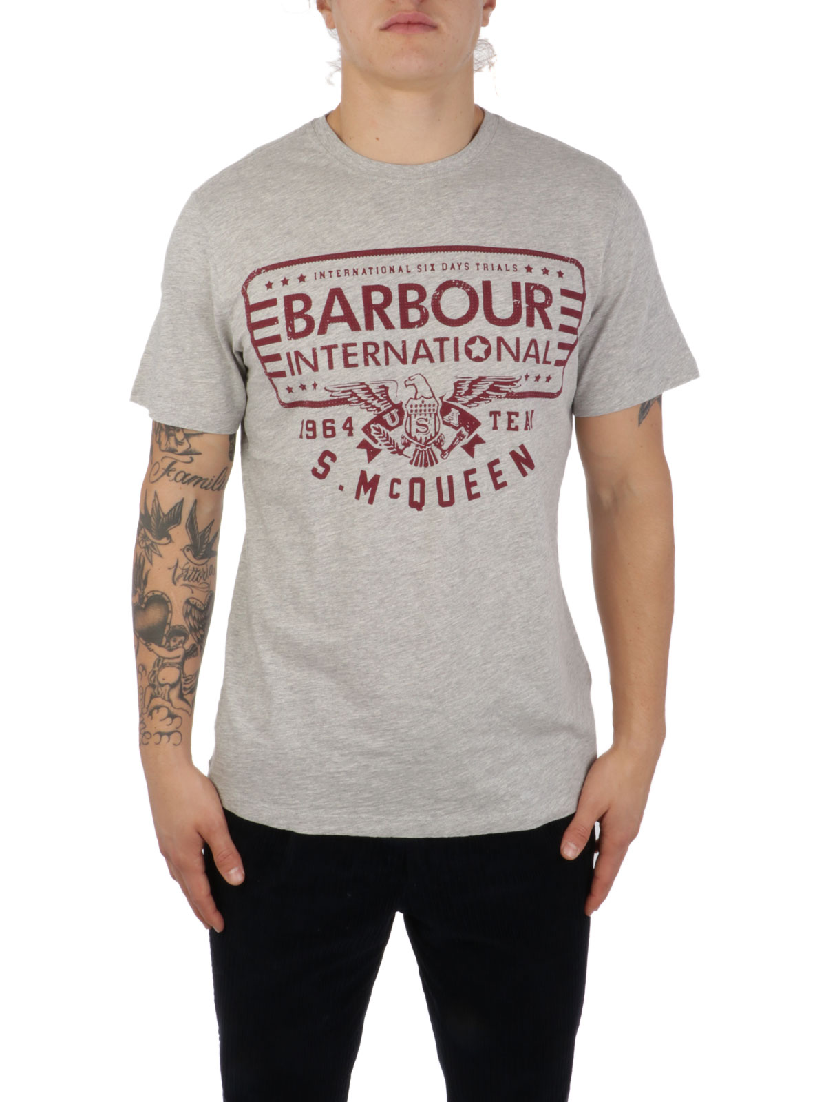 Picture of BARBOUR | Men's Eagle Tee