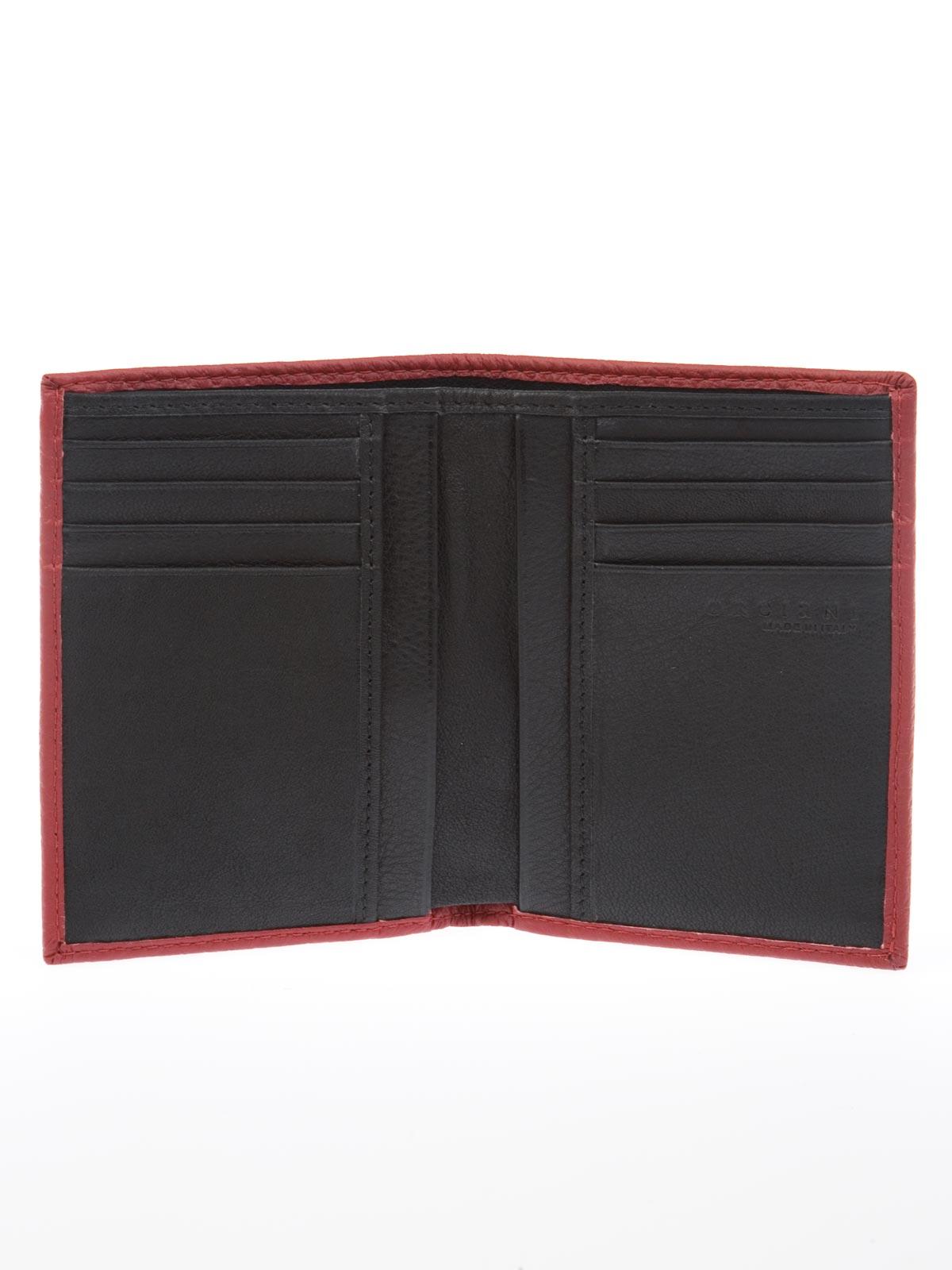 13e5c76643 ORCIANI WALLET PORTAFOGLI RED | SU0045 | Botta & B Online Store