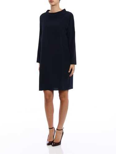 Picture of ASPESI | Women's Silk Egg-Shape Dress
