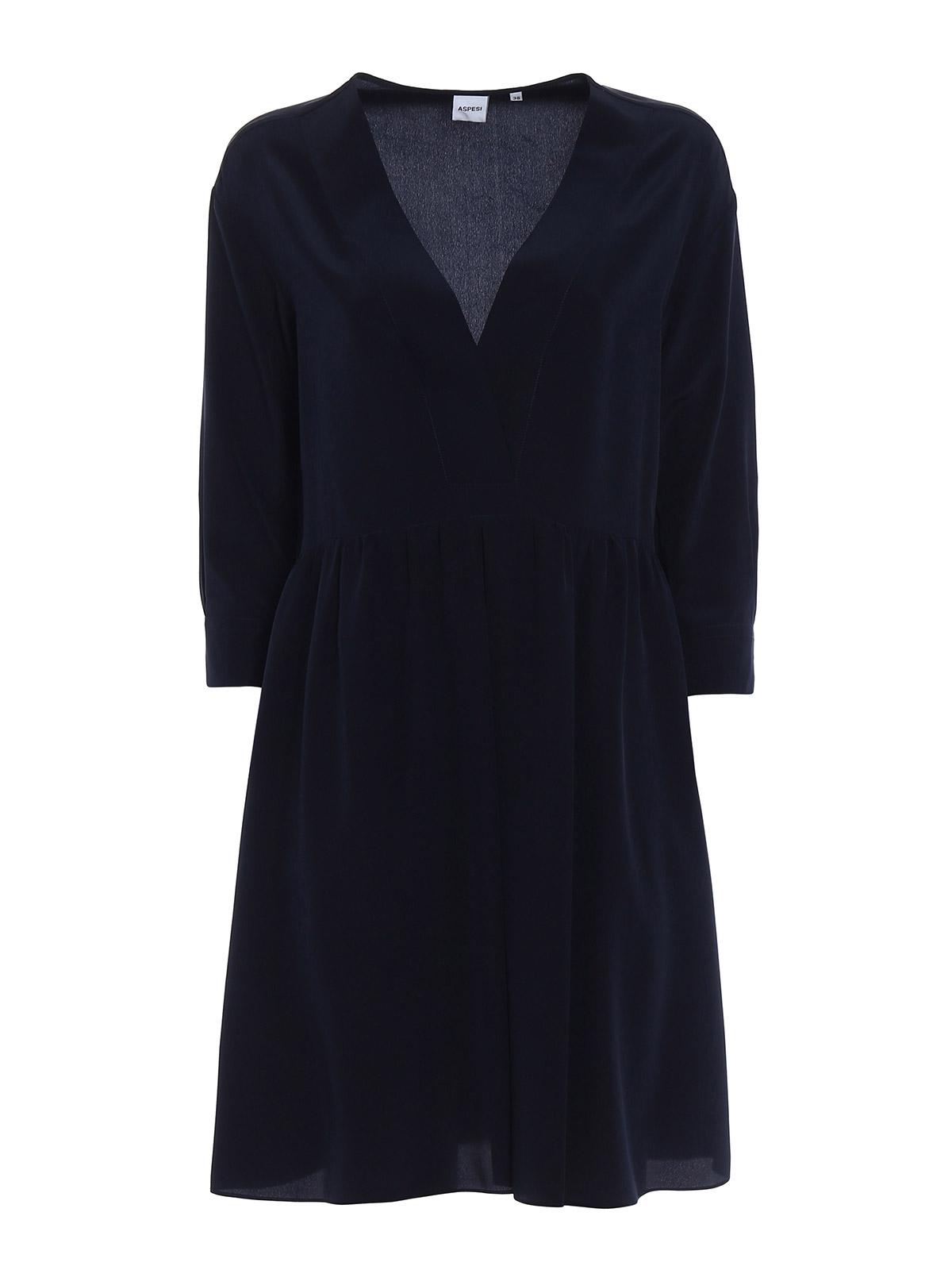 Picture of ASPESI | Women's Silk Loose Dress