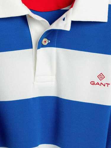 Picture of GANT   Men's Barstripe Piqué Polo Shirt