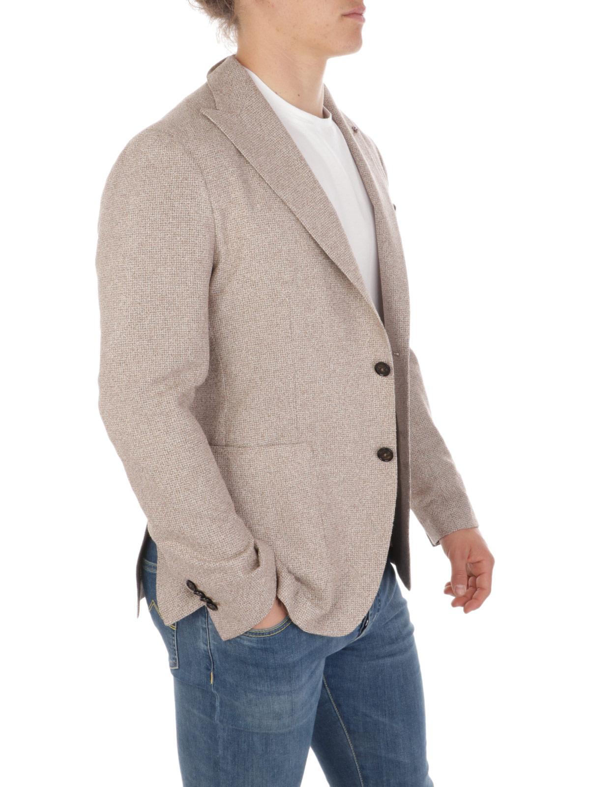Picture of TAGLIATORE | Men's Melange Viscose Blazer