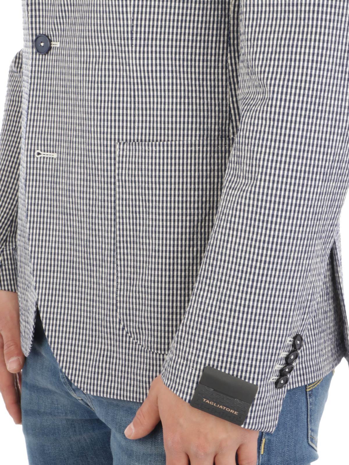 Picture of TAGLIATORE | Men's Stretch Cotton Blazer