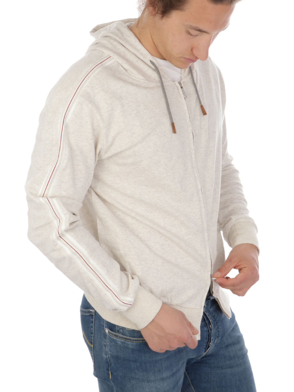 Picture of ELEVENTY | Men's Hooded Cotton Sweatshirt