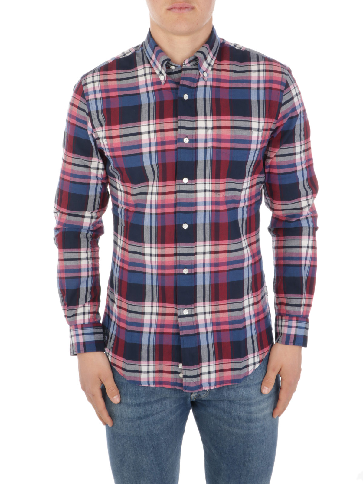 Picture of ASPESI   Men's New Robert II Cotton Shirt