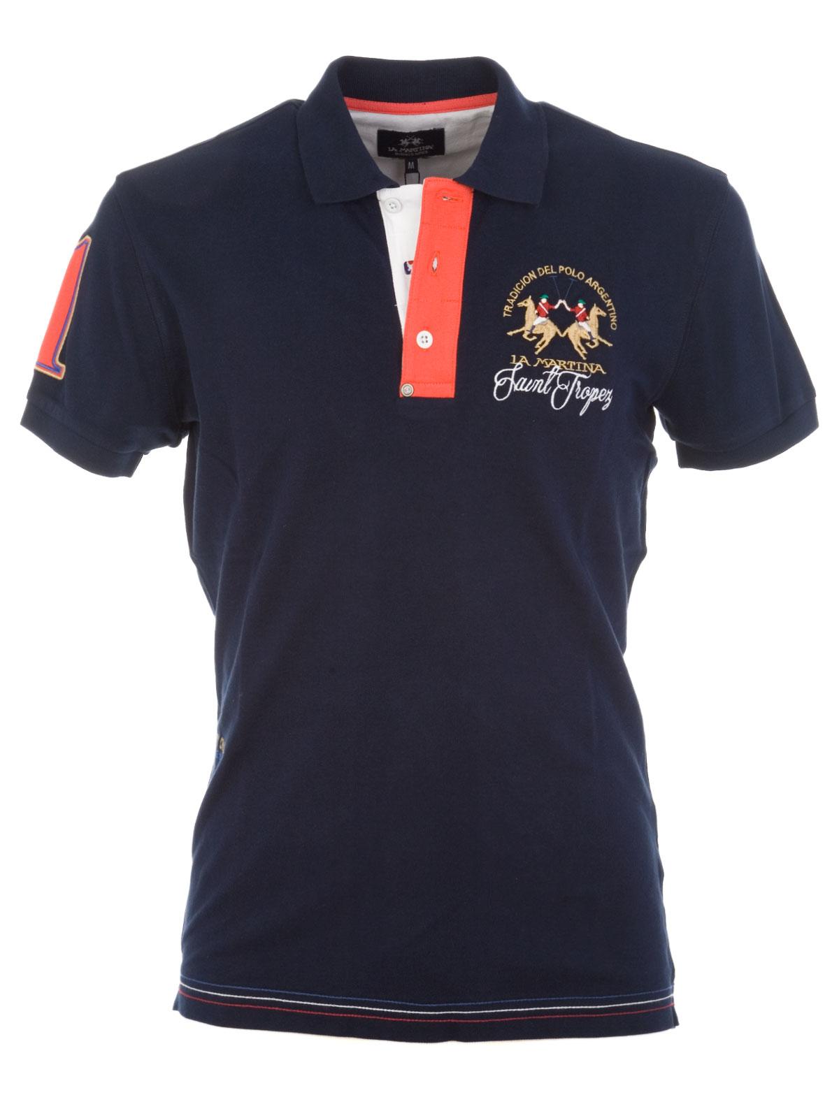Picture of LA MARTINA | Saint Tropez Polo Shirt