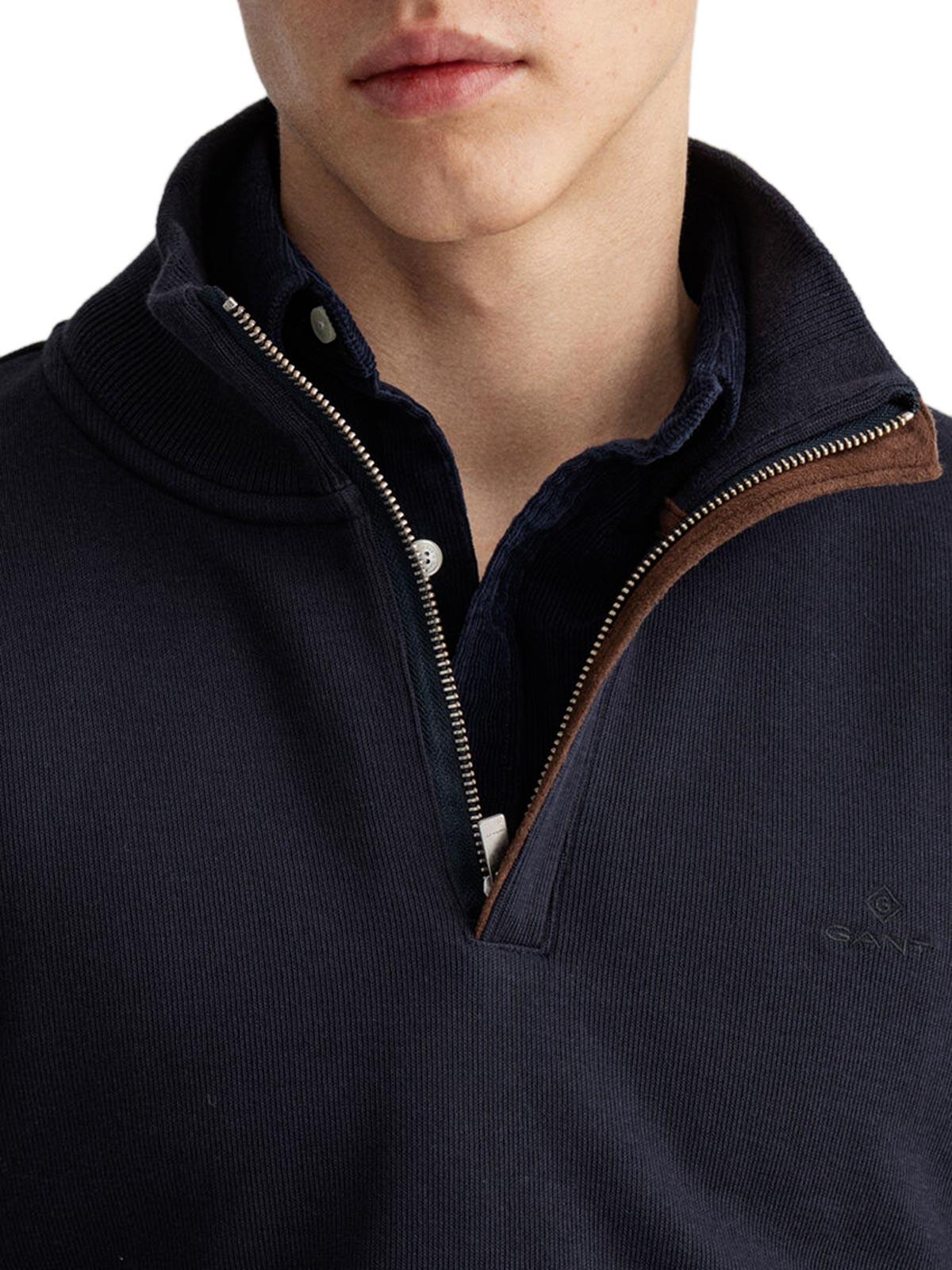 Picture of Gant | Felpe D1. Sacker Rib Half Zip