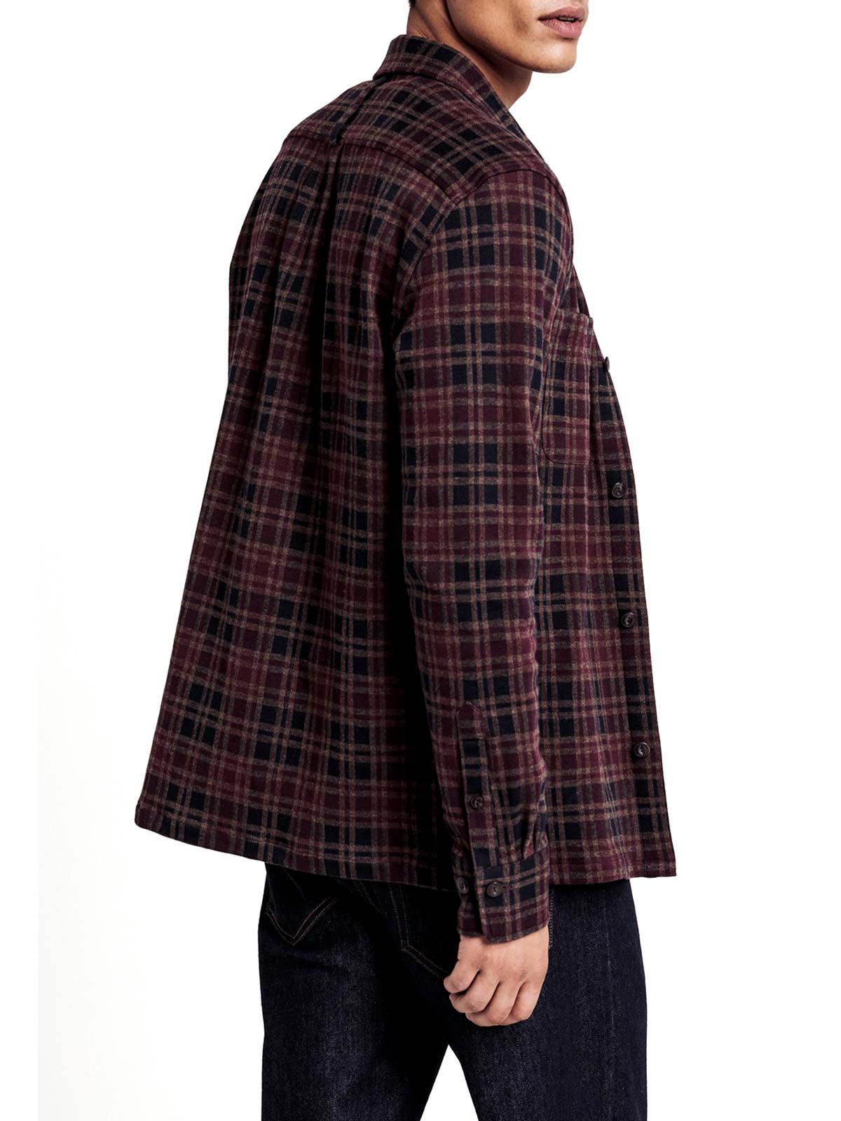 Picture of GANT   Camicie D2. JERSEY SHIRT JACKET