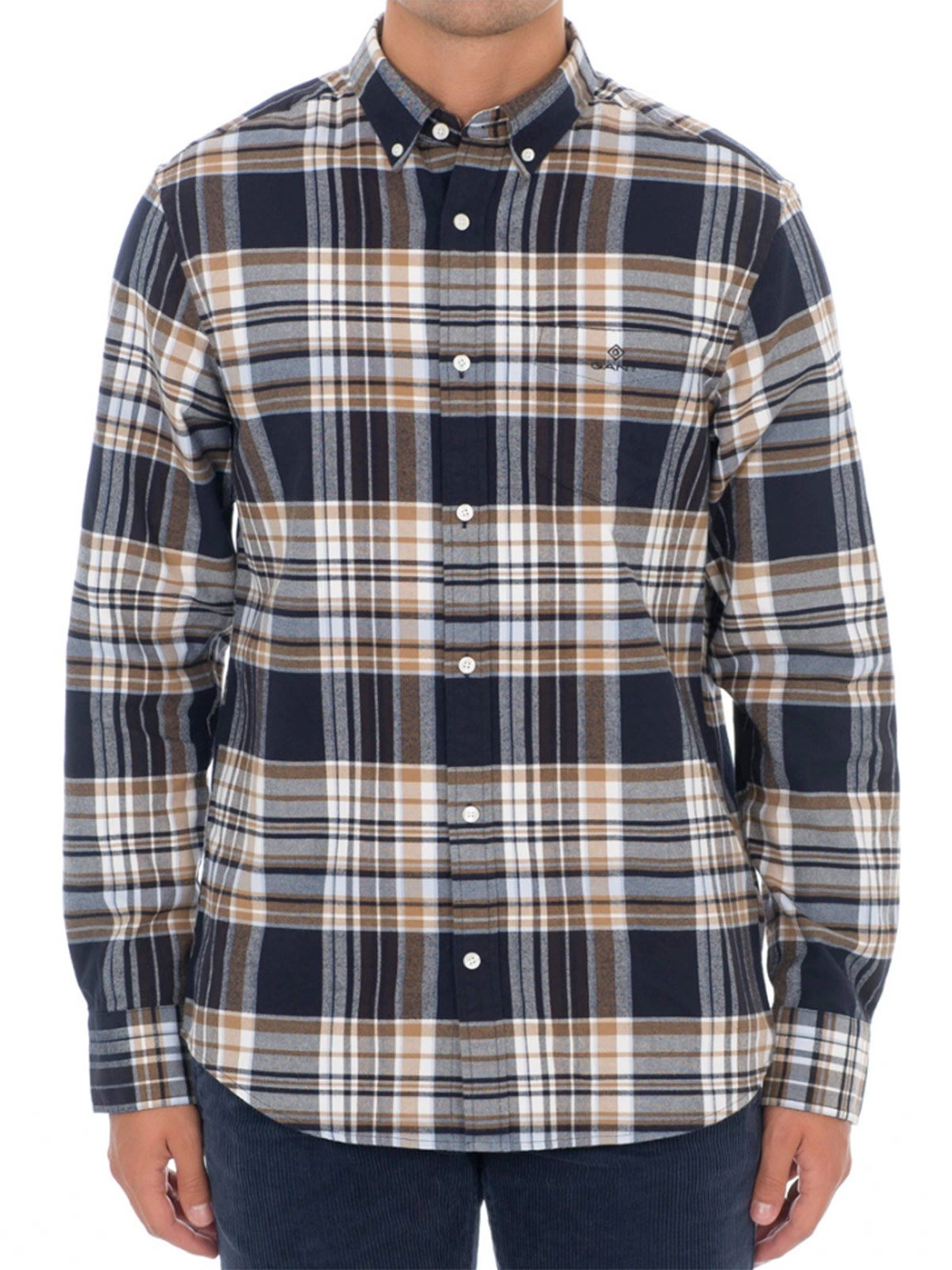 Picture of GANT   Camicie D2. BRUSHED OXFORD REG BD